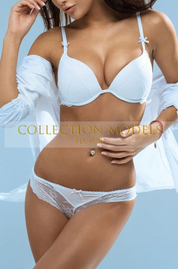 Luxury escorts Tel Aviv 24 y.o. black erotic model Angela